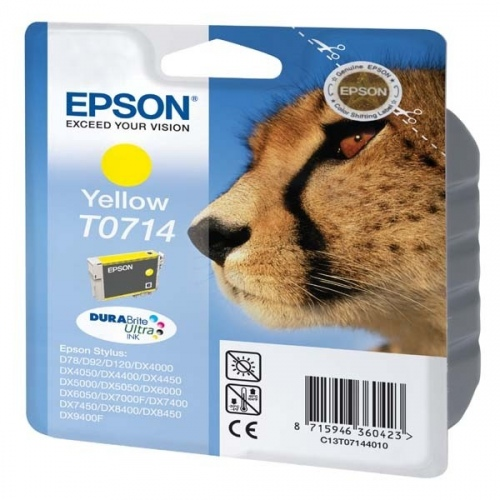 Epson Ink Yellow (C13T07144012)
