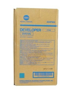 Konica-Minolta Developer DV-610 Cyan 200k (DV610C) (A04P900)