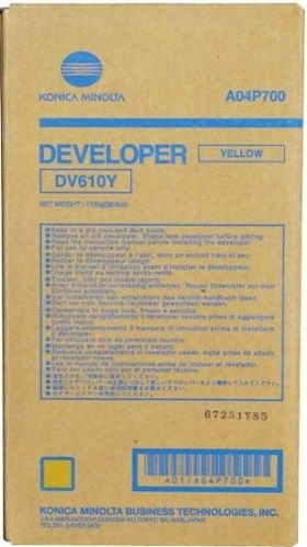 Konica-Minolta Developer DV-610 Yellow 200k (DV610Y) (A04P700)
