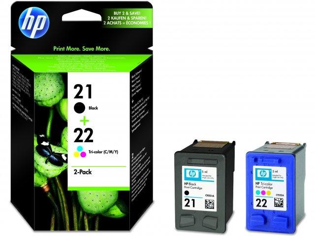 HP Ink No.21/22 Black / Color (SD367AE)
