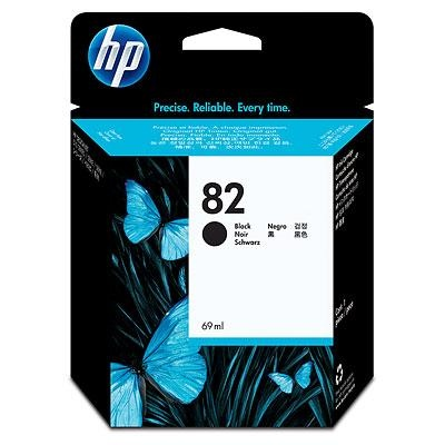 HP Ink No.82 Black (CH565A)