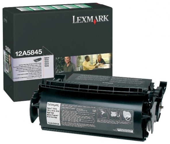 Lexmark Cartridge Black (12A5845) Return