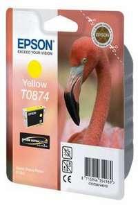 Epson T0874 (C13T08744010), geltona kasetė