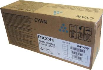 Ricoh Toner MP C7501 Cyan (842076) (841366) (841362) (841409) (841413)