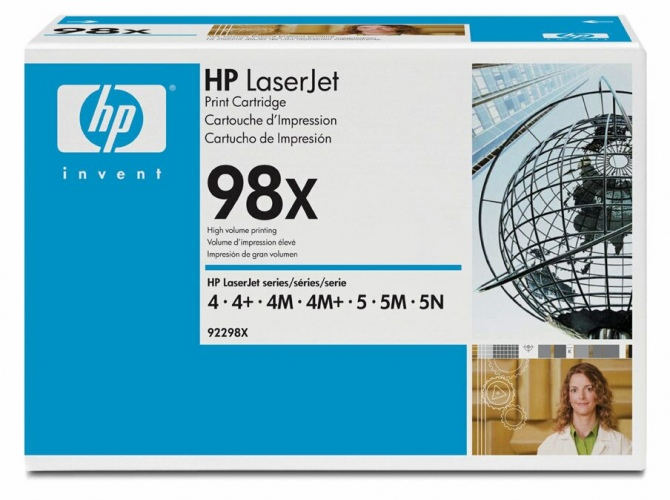 Hewlett-Packard 92298X Black