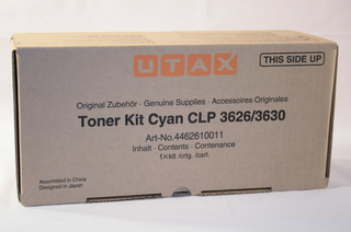 Triumph Adler Toner Kit CLP 4626 10k/ Utax Toner CLP 3626 Cyan (4462610111/ 4462610011)