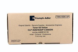 Triumph Adler Toner Kit CLP 4626 10k/ Utax Toner CLP 3626 Yellow (4462610116/ 4462610016)