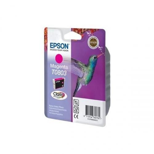 Epson T0803 (C13T08034011), purpurinė kasetė
