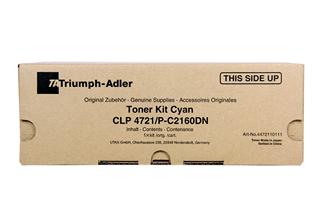 Triumph Adler Toner Kit CLP 4721/ Utax Toner CLP 3721 Cyan (4472110111/ 4472110011)