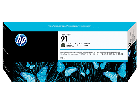 HP Ink No.91 Black (C9464A)