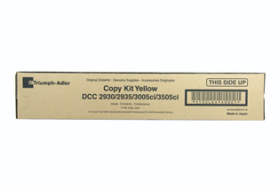 Triumph Adler Copy Kit DCC 2930/ Utax Toner CDC 1930 Yellow (653010116/ 653010016)