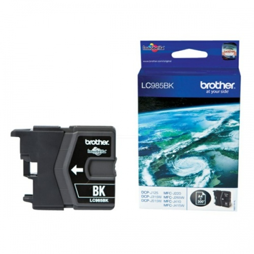 Brother Ink LC 985 Black 0,3k (LC985BK)
