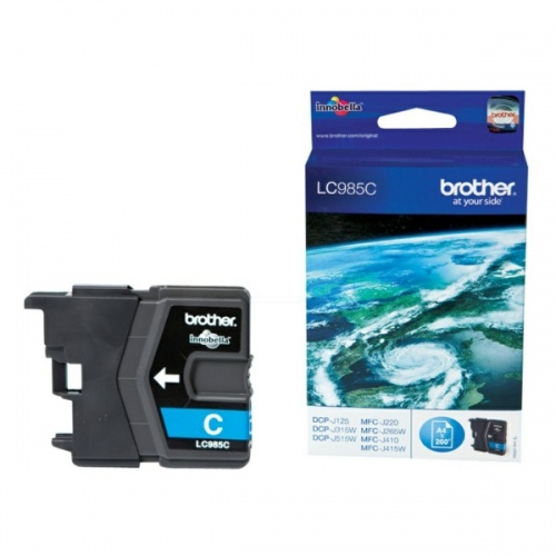 Brother Ink LC 985 Cyan (LC985C)