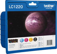 Brother Ink LC 1220 Rainbow (LC1220VALBPDR)