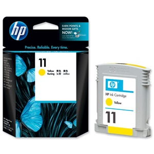 HP Ink No.11 Yellow (C4838AE)