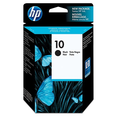 HP Ink No.10 Black (C4844AE)