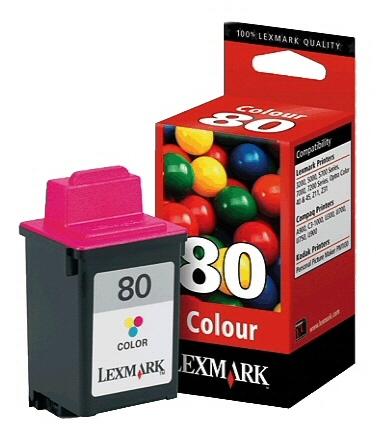 Lexmark 12A1980, Nr. 80