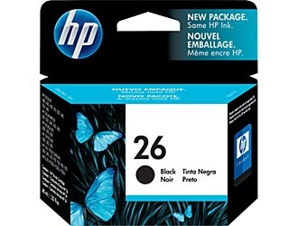 HP 26 (51626A) Black Expired date