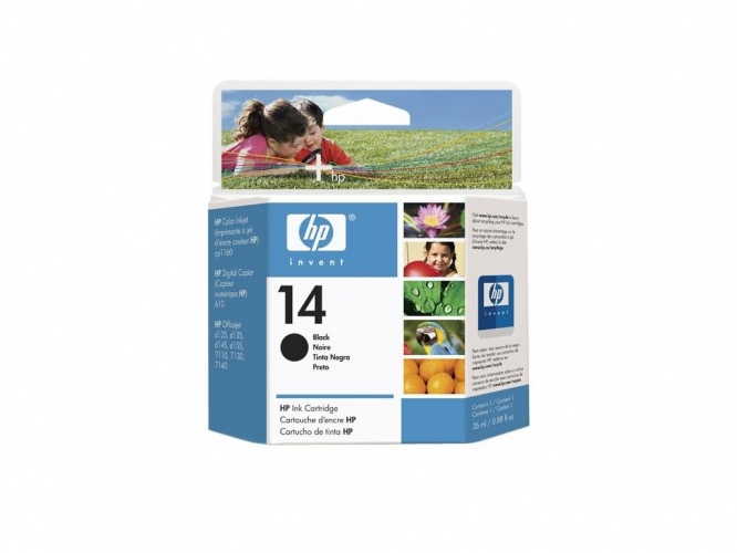 HP 14 (C5011DE) Black Expired date