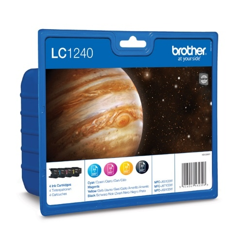 Brother Ink LC 1240 Rainbow-Pack (LC1240VALBPDR)