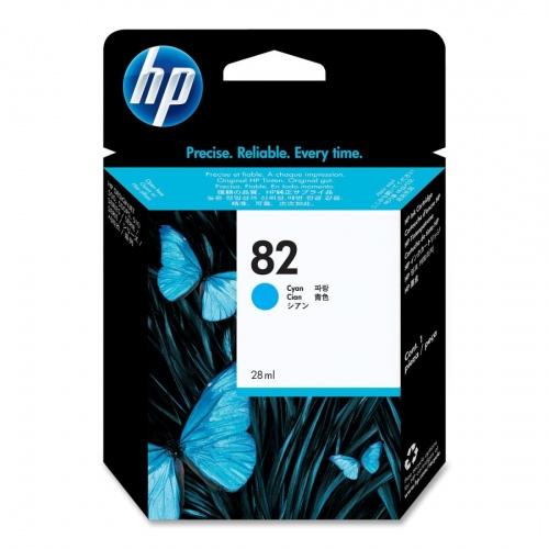 HP Ink No.82 Cyan (CH566A)