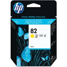 HP Ink No.82 Yellow (CH568A)