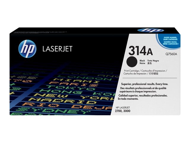 HP Cartridge Q7560A Black No.314A EOL