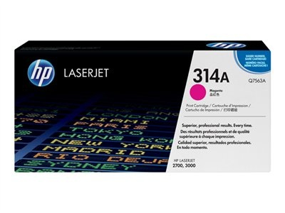 HP Cartridge Q7563A Magenta No.314A