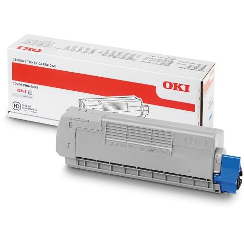 Oki Toner C 610 Black 8k (44315308)