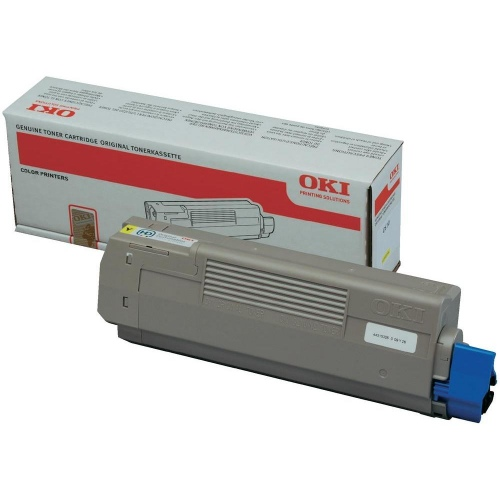 Oki Toner C 610 Yellow 6k (44315305)