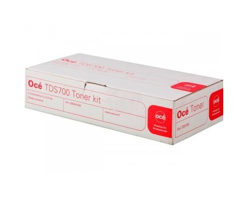 Océ Toner Kit TDS700 1070066265 (1060047449) (1060099404)(6362B001) incl. 2 Toner Bottles + 1 Contai