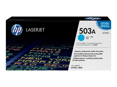 HP Cartridge No.503A Cyan (Q7581A) EOL