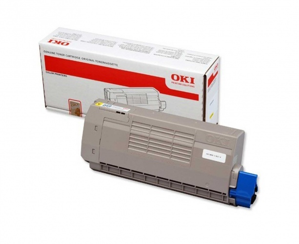 Oki Toner C 711 Yellow 11,5k (44318605)