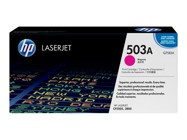 HP Cartridge No.503A Magenta (Q7583A) EOL