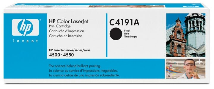 Hewlett-Packard C4191A Black