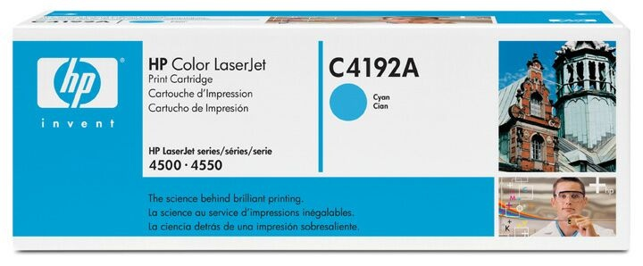 HP Cartridge C4192A Cyan EOL