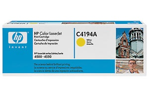 HP Cartridge C4194A Yellow EOL