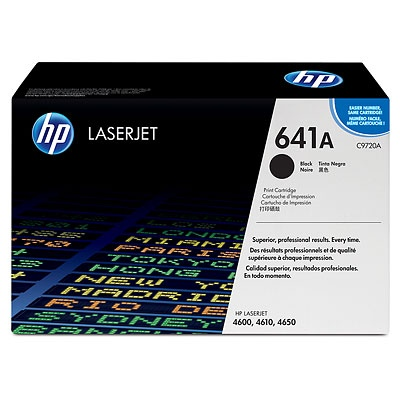 HP Cartridge No.641A Black (C9720A) EOL