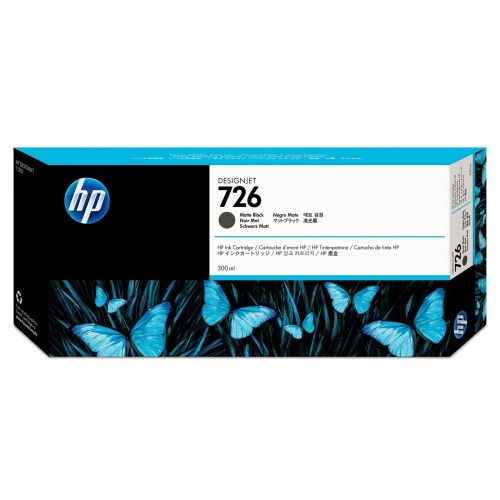 HP Ink No.726 Matt Black (CH575A)