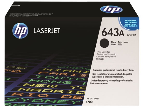 HP Cartridge No.643A Black (Q5950A)