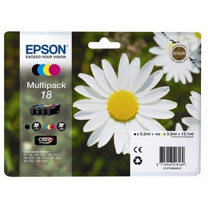 Epson Ink No.18 Multipack (C13T18064012) 15,1ml
