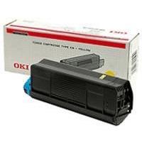 Oki Toner C 5100 Yellow 5k Typ C6 (42127405)