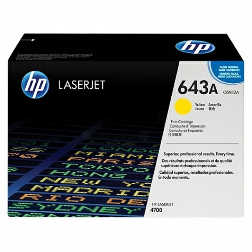HP Cartridge No.643 Yellow (Q5952A)