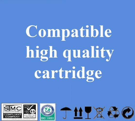 Compatible Canon BCI-3/ 5/ 6/ 8 eC Cyan, 280 p.