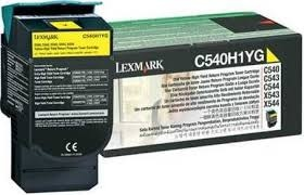 Lexmark Cartridge Yellow (C540H1YG) Return