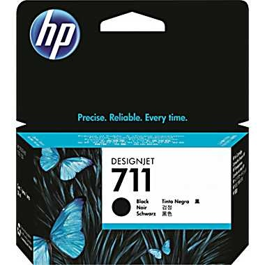 HP Ink No.711 Black LC (CZ129A)