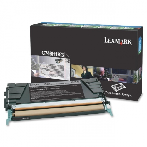 Lexmark Cartridge Black (C746H3KG) Corporate