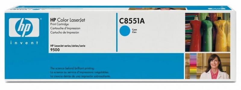 HP Cartridge C8551A Cyan No.822A