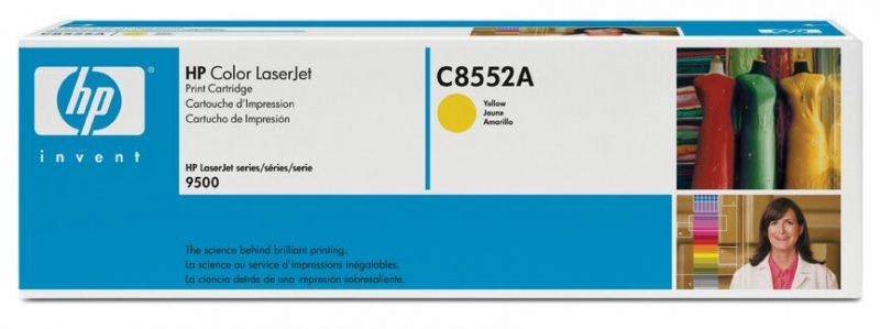 HP Cartridge C8552A Yellow No.822A
