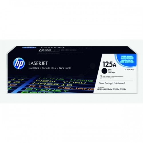 HP Cartridge No.125A Black (CB540A)